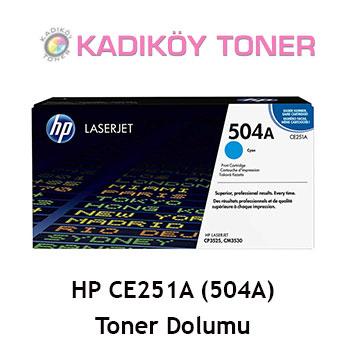 HP CE251A (504A) Laser Toner